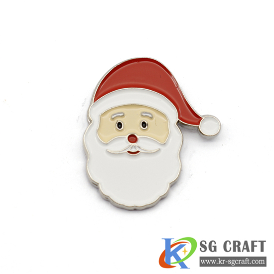 Custom Santa badge