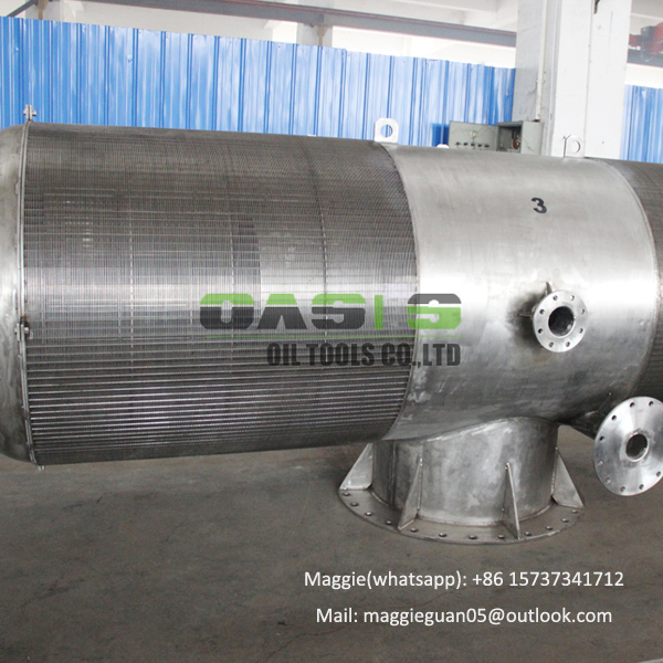 Passive intake water well screen sea water filters