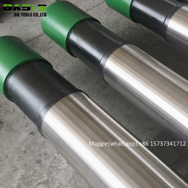 slip on wire wrapped screen filters perforated steel casing based pipes