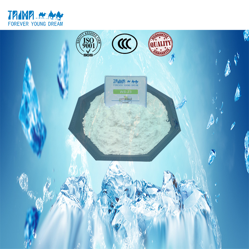 Cooling Agent ws-3 vs ws-23 cool effect