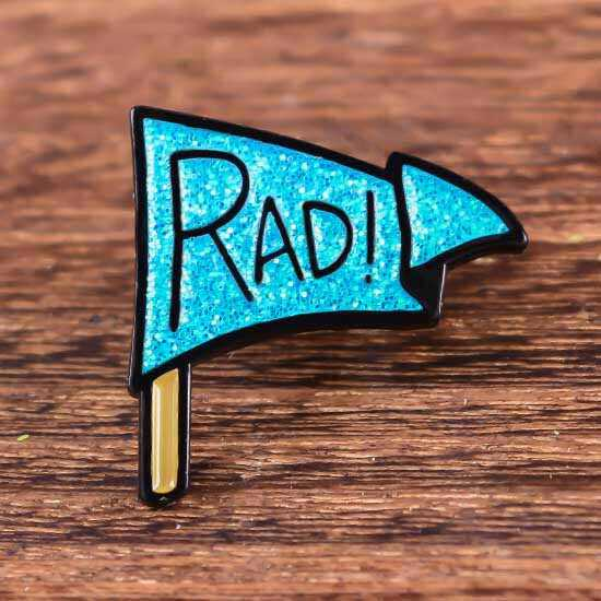 RAD Custom Enamel Pins No Minimum