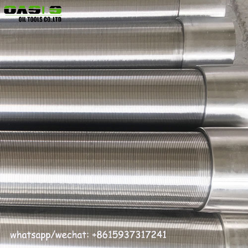 0.5mm slot stainless steel johnson type water well screens crepine johnson for water water well drilling forages