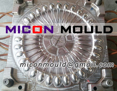 PLA cutlery mould, spoon mould, fork mould, knife mould, folding fork mould