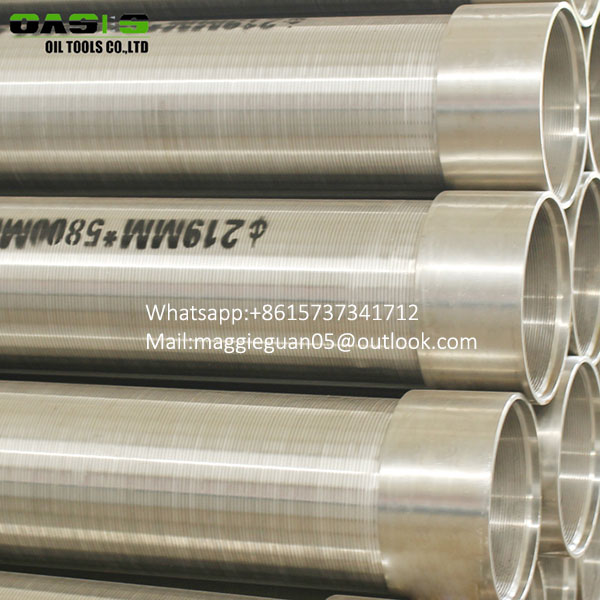 manufacturer of wedge wire tubes /Cylinders for drilling
