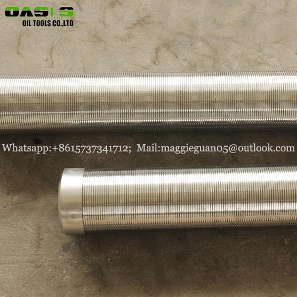 1mm slot water well screen filter pipe manufactory