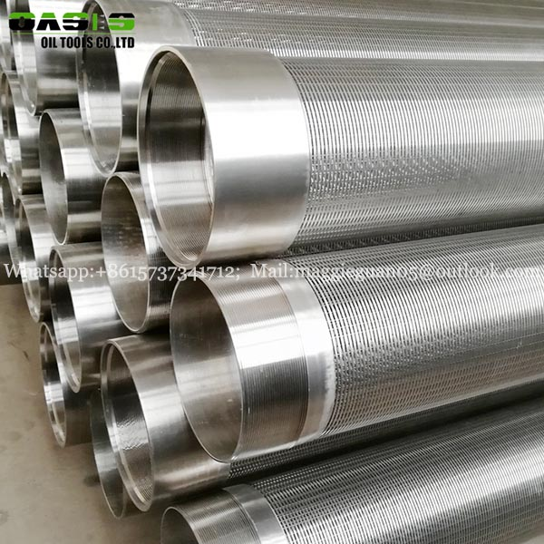 stainless steel water well drilling screen steel pipe filter factory mesh filter