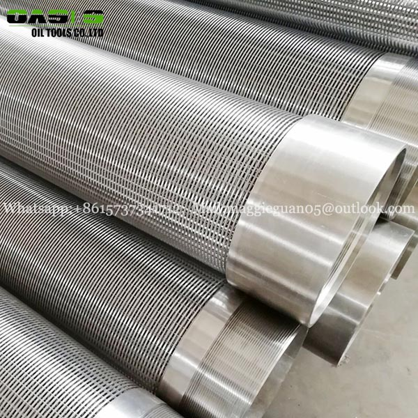 High quality water well screen filter cylinder / V type wedge wire screen
