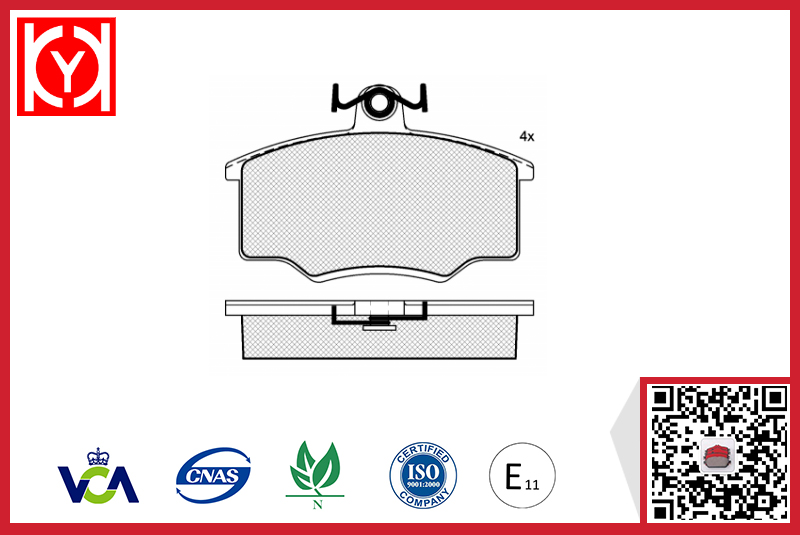 AUDI brake pad wholesale