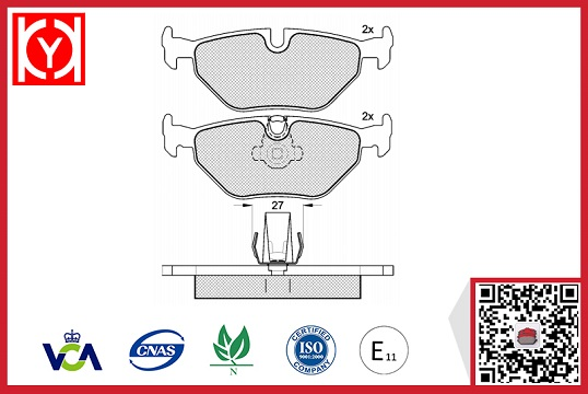 ALPINA brake pad,OEM ALPINA brake pad supply