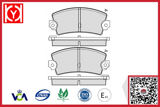 ALPINE brake pad,ALPINE brake pad china