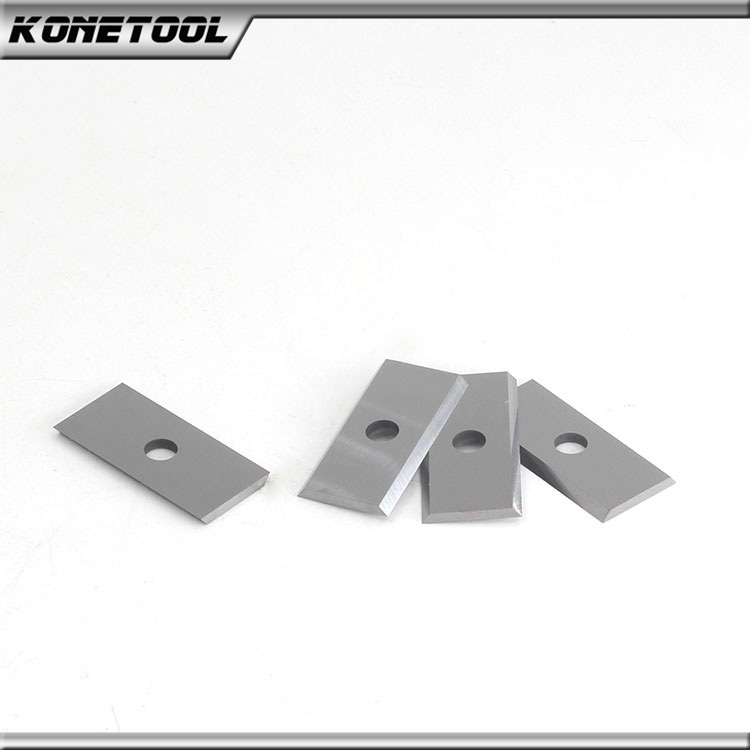 Tungsten Carbide Turnover Insert Knives - Straight Hole