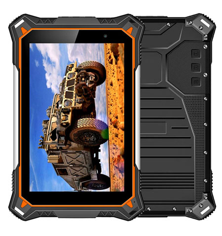 HIDON 8 Rugged tab 2G+32G android 8.1 rugged tablets Octa-core IP68 Rugged tabs