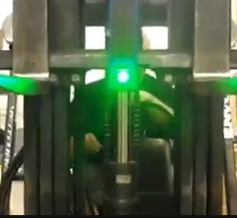 Forklift Laser Alignment System