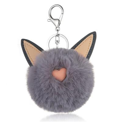 Popular Cat POM POM Keychain