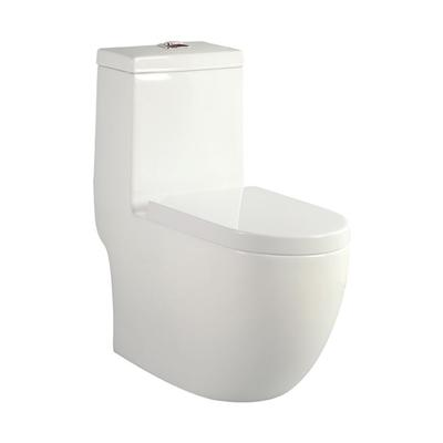 One Piece Skirted Toilet