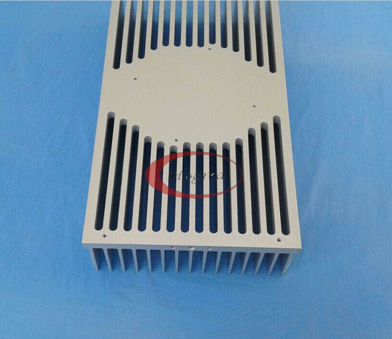 Customized anodized extruded aluminium heat sink led round