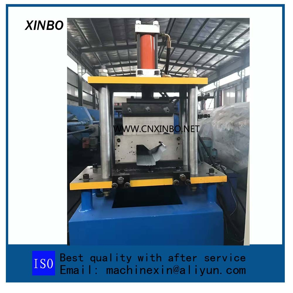 automatic rain gutter pipe  forming machine