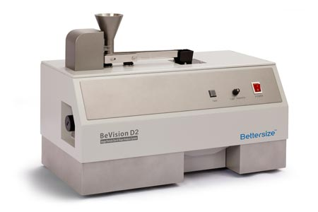 BeVision D2 Dynamic Image Particle Analyzer for Dry and Wet Analysis