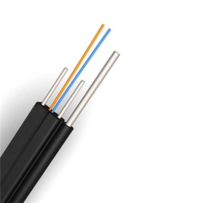 Self-supporting Drop Cable With Steel Wire