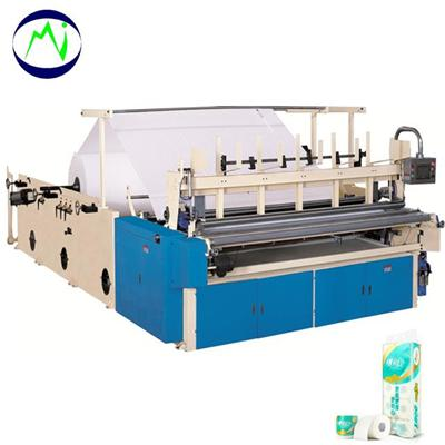 Full Automatic Toilet Paper Rewinding Machines