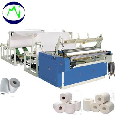 High Speed Toilet Paper Roll Perforating Machines