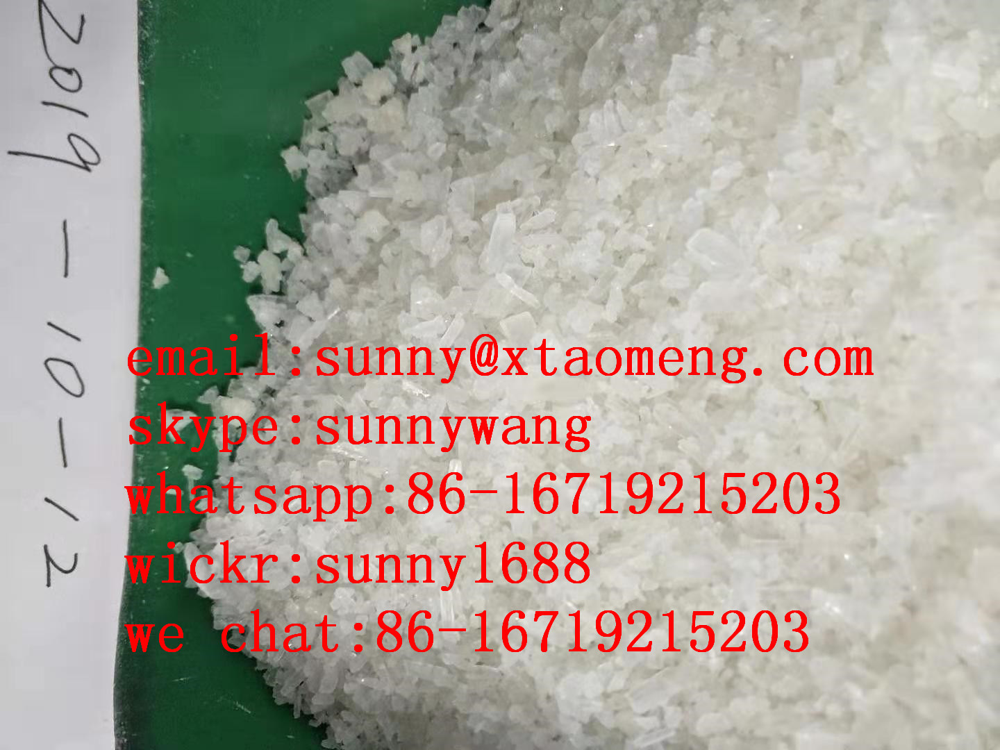 supply 2fdck 2f-dck 2-fdck ketamine crystal and crystalline(sunny@xtaomeng.com)