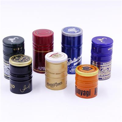 Aluminium Spirits Screw Caps