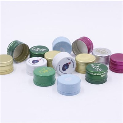Aluminium Water Screw Caps