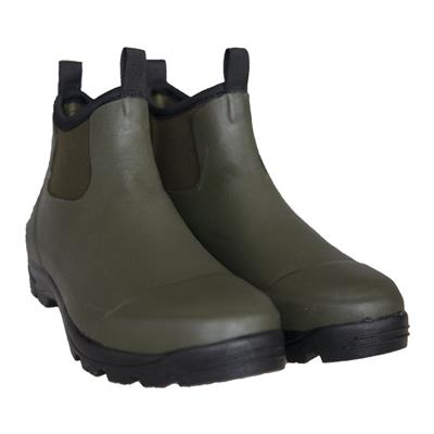 Men's Waterproof Rubber Ankle Boots