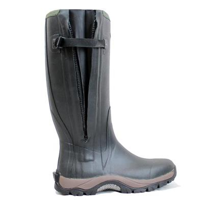 Men's Rain Boots With Side Zipper