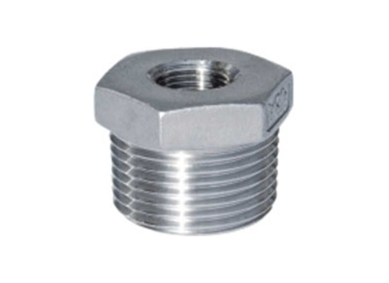 HEXAGON BUSHING  Stainless Steel Hexagon Bushing   Threaded Fitting
