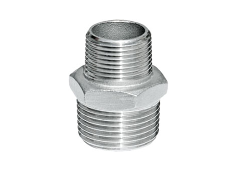 REDUCER HEX NIPPLE Thread Reducer Hexagon Nipple  Stainless Steel Wedling Nipple