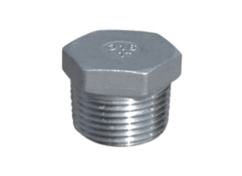 HEX PLUG  Threaded Fitting  Stainless Steel Hexagon Plug wholesale