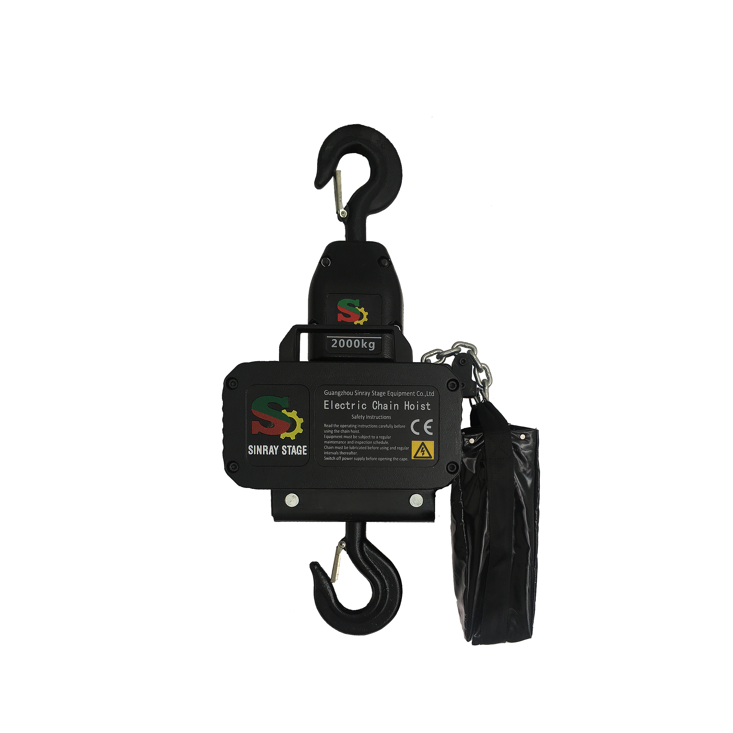 2T aluminum electric hoist