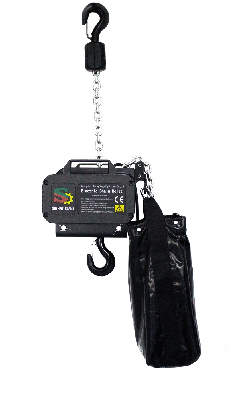 light weight stage hoist