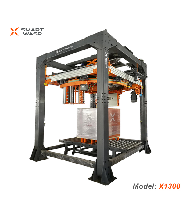 Ring Type High Speed Fully Automatic Pallet Wrapping Machine