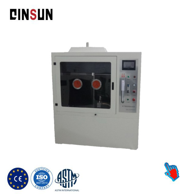 UL94 horizontal and vertical combustion tester
