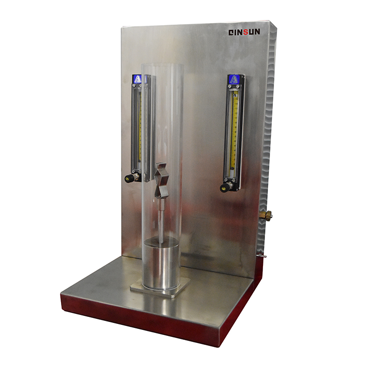 LOI Limiting Oxygen Index Test Chamber for combustible materials