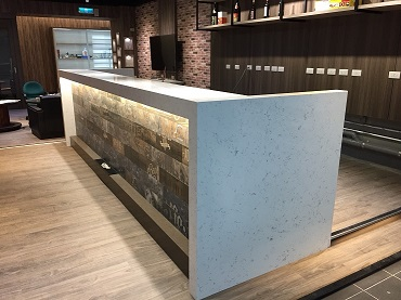 Quartz stone for bar tops