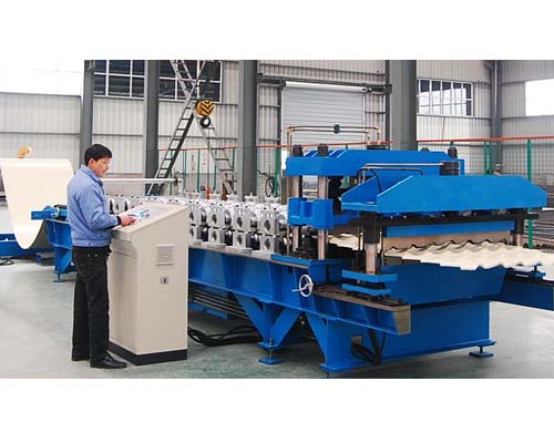 U stud&track roll forming machine