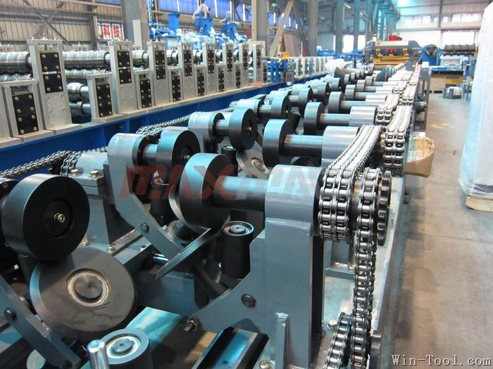 146 Roll Forming Machine for ridge cap