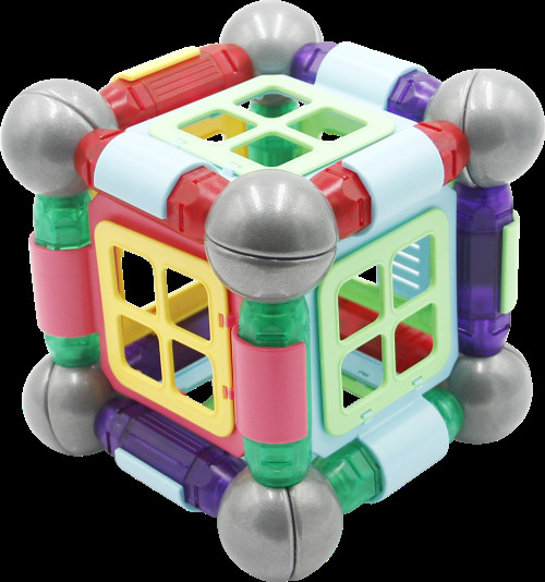 Parent-child Interaction Magnetic Builders