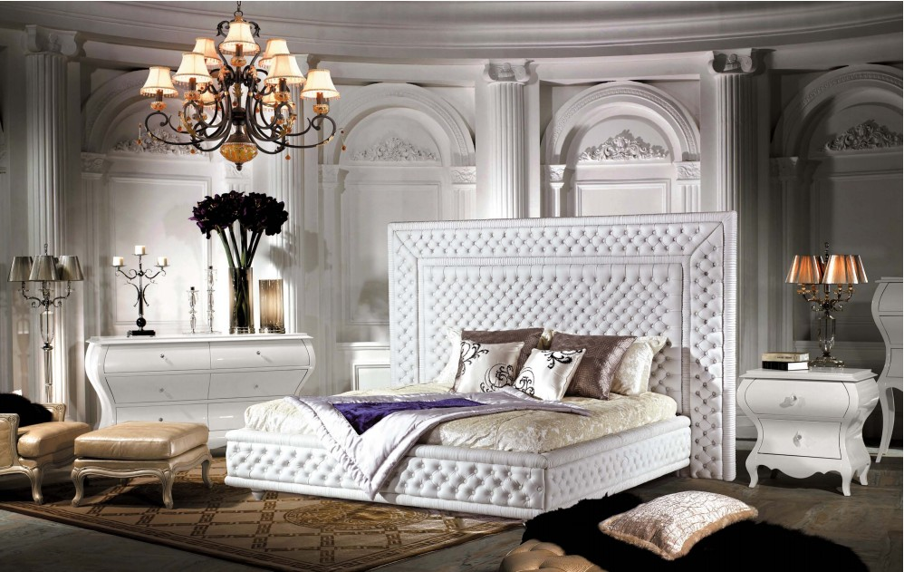 Classic and elegant bed for luxury bedroom /Furniture/Furniture and ...