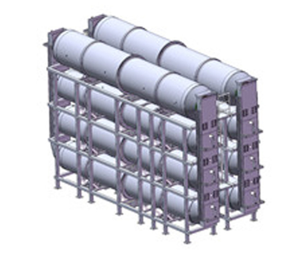 palm oil tank with heating coil