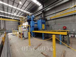 H BEAM SHOT BLASTING MACHINE