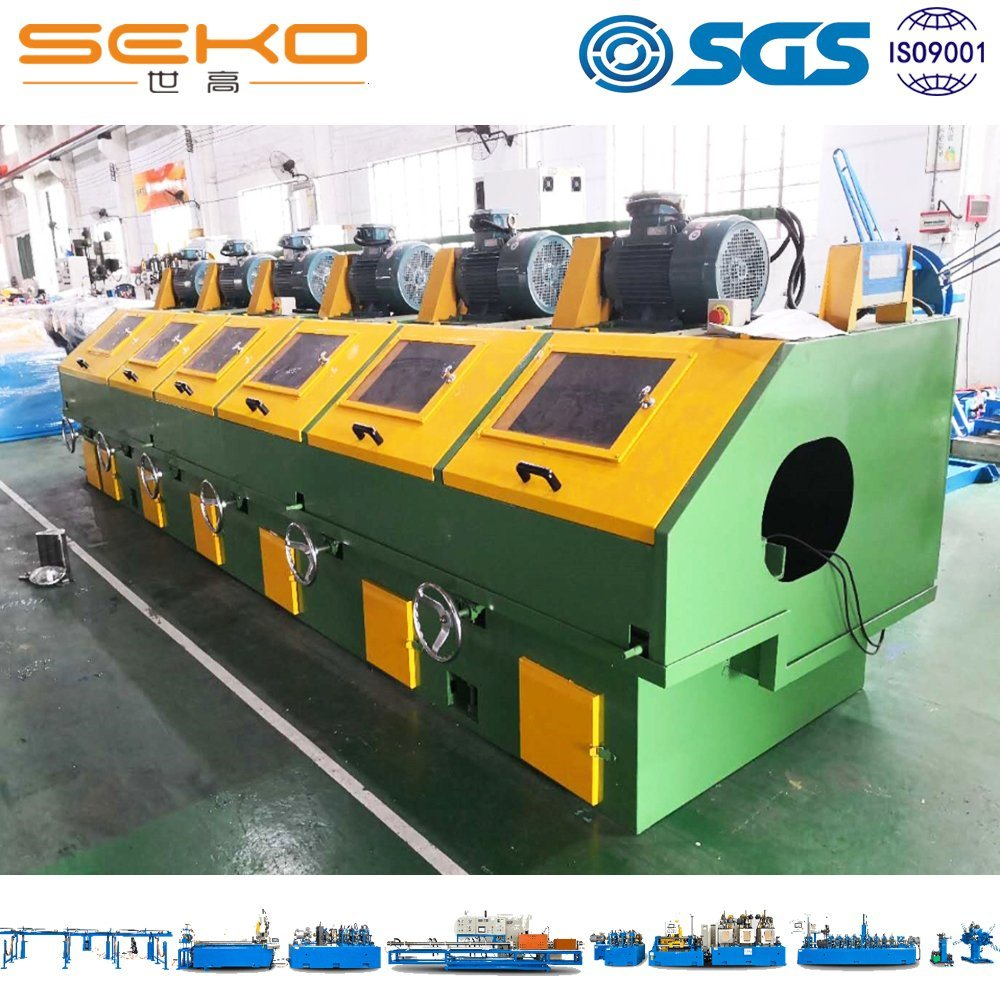 Round Steel Tube External Surface Polishing Machine