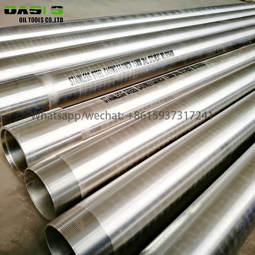 Stainless steel casing for water well drilling