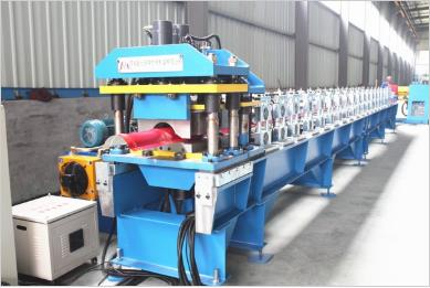 Metal Tile Ridge Cap Roll Forming Machine