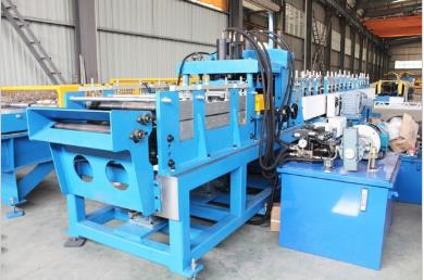 Galvanized C Z U Sigma Roll Forming Machine