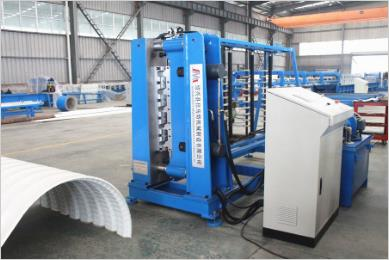 Crimping and Curving Machine